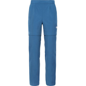 The North Face Inlux Convertible Pants Women blue wing teal